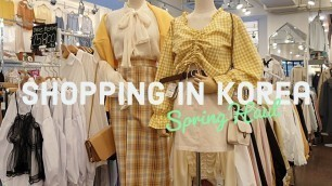 'Early Spring Shopping in Korea Fashion Haul + Try On'