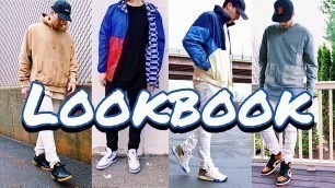 SPRING FASHION LOOKBOOK - ADIDAS, CHAMPION, JORDAN, REEBOK, NEW BALANCE, TRACK JACKETS