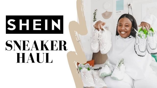 SHEIN Chunky Sneakers Haul   Shein Shoe Haul, Affordable Shoes