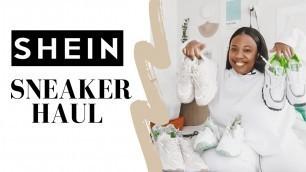 SHEIN Chunky Sneakers Haul | Shein Shoe Haul, Affordable Shoes