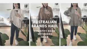 'AUSTRALIAN BRANDS CLOTHING HAUL | Country Road, Witchery & Seed Heritage | The Issa Edit'