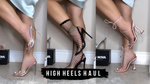 AFFORDABLE HIGH HEELS TRY ON | SHOE TRY ON HAUL 2020 | SUMMER HIGH HEELS COLLECTION