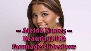 'Aleida Nunez - Mexican actress, singer & model beautiful HD fanmade slideshow'