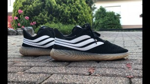 Adidas SOBAKOV 'Core black/Ftwrwht/gum3 | UNBOXING & ON FEET l fashion shoes | 4K
