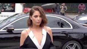 'Ashley Benson at the Balmain Fashion Show in Paris'