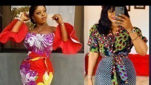 Hottest And Sexy Ankara Styles, Gorgeous And Elegant African Fashion Styles