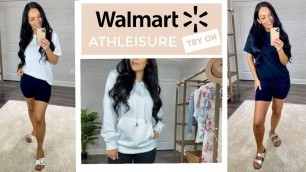 Walmart Summer Athleisure Try On Haul | Affordable Fashion Haul