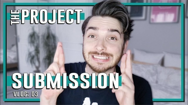 THE PROJECT SUBMISSION - VLOG 03: finally handing in my Fashion Design project will they like?