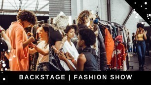 'The Backstage of a FASHION SHOW | BRUSSELS FASHION DAYS'