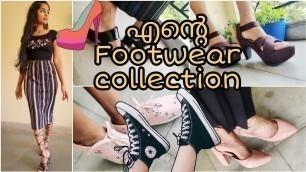 MY FOOTWEAR COLLECTION|Huge affordable shoe collection|Amazon,Flipkart, Nykaa Fashion|Asvi Malayalam