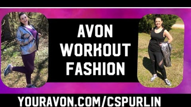 'Avon WORK OUT CLOTHES'