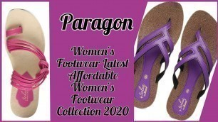 Paragon Women Footwear Latest & Affordable Women's Footwear Collection 2020
