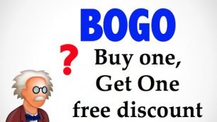 'What is BOGO Buy one get one free ? - Wholesale terms'