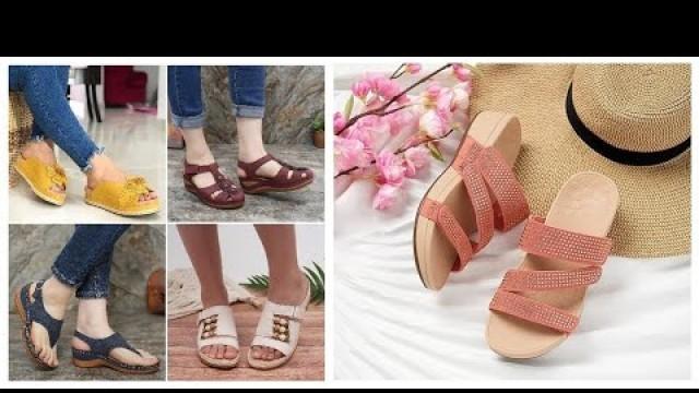 Daily Wear Casual Shoes=Affordable Designer Women Sandals Footwear=FSBS