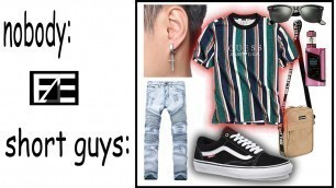 '3 WAYS FOR SHORT GUYS TO LOOK GOOD IN CLOTHES'