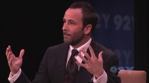 'TOM FORD TALKS ABOUT FILM AS AN ART FORM | Mr Tom Ford'