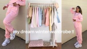 'HUGE WINTER TRY-ON HAUL (australian brands) & current trends | lolita olympia'