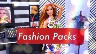 'Unbox Daily:  Barbie Fashion Packs | ALL NEW Fashion & Accessories'