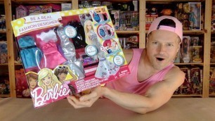 'Barbie Be A Real Fashion Designer Playset Unboxing Review'