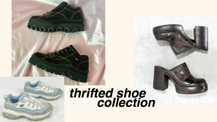 THRIFTED SHOE COLLECTION