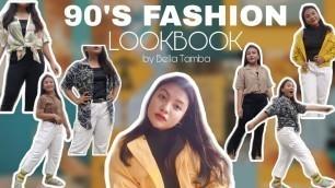 90s FASHION STYLE LOOKBOOK, RETRO OUTFIT IDEAS | BELLA TAMBA