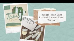 Alodia Hair Care Product Launch & Giveaway Winner Announcement   VuLo Vlogs   South African YouTuber