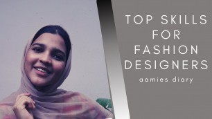 Here's how to learn fashion designing at home, Top skills that fashion designer should acquire!!..