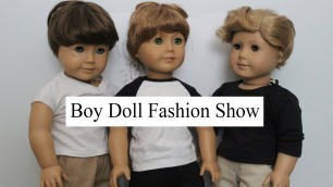 American Boy Doll Fashion Show ll AGSM