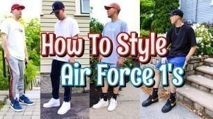 'HOW TO STYLE NIKE AIR FORCE 1 SNEAKERS - NIKE AF 1 LOOKBOOK'