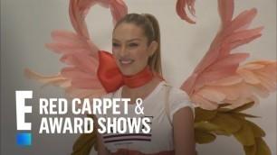'Candice Swanepoel\'s Victoria\'s Secret Fashion Show Fitting | E! Red Carpet & Award Shows'