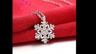 European and American fashion wild lady models Czech diamond ladies necklace spring flower bloom nec
