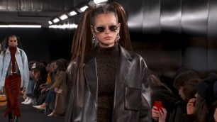Alexander Wang Collection 2 2019 Runway Show | alexanderwang