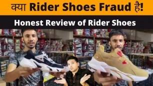'Honest Review Of Rider Shoes | Shoes Wholesale Market In Ballimaran Delhi | #ridershoes'