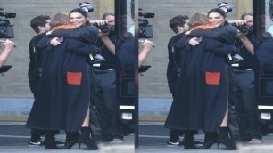 'Gigi Hadid and Kendall Jenner Hug at Victoria\'s Secret Fashion Show Rehearsals After Skipping the 20'