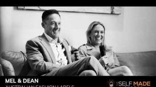 """'Mel & Dean Flintoff from \""""Australian Fashion Labels\""""'"""