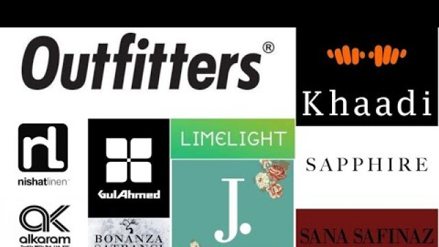 Top 10 clothing brands in Pakistan | top 10 fashion brands in Pakistan. | Pakistani brand list