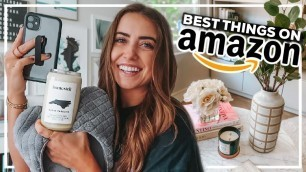 30 BEST THINGS ON AMAZON! home decor, tech, + beauty products you NEED in 2020
