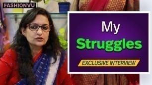 'My Struggles || #FashionDesigner #VarshaMahendra Exclusive Interview || #Fashionvu'