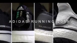 'Adidas Running Shoes 2019 - Adios 4, Boston 8, SolarBoost 19, UltraBoost 19'