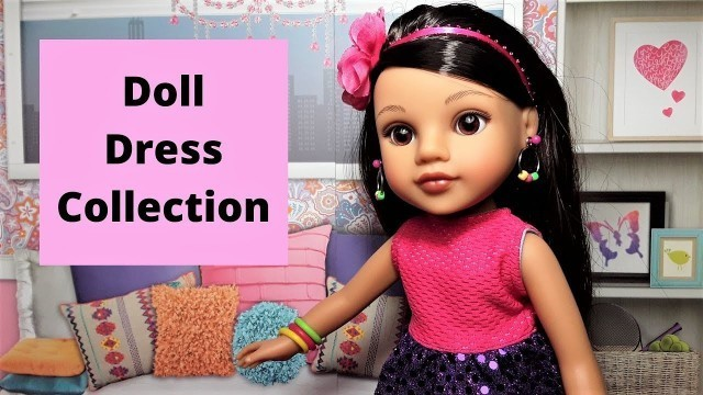 Handmade Doll Dress Collection for 14-inch Dolls | Doll Dress Fashion Show