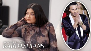 'Kylie Jenner Gets Ready For Her Big Balmain Fashion Week Collab | KUWTK | E!'