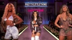 PrettyLittleThing x Saweetie NYFW 2019: Lil Kim, Ashanti, Quavo   Fashion Show   Live Concert