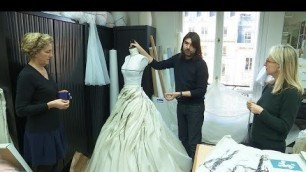 'Behind the scenes of high fashion: Paris haute couture workshops'