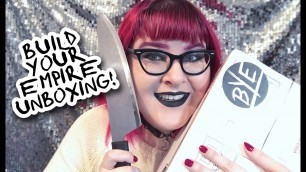 NEW Indie Alternative Goth Fashion Brand! ☠ BYE Unboxing!