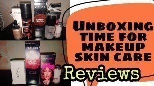 Unboxing makeup skin care products hual| Amazing unboking for you girls