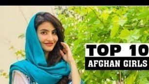 'Afghan Most Beautiful Models | Cute Girls of Afghanistan'