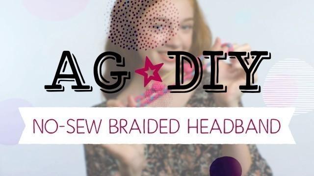 American Girl DIY: Headband
