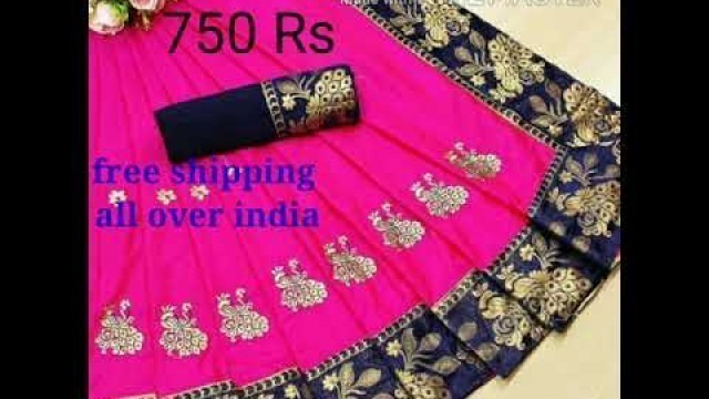 'Noor fashion designer saree cod available free shipping all over india'