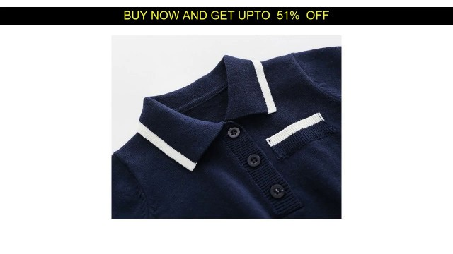 '◆ 2020 Newborn baby boy Knitted rompers Baby Clothes Infant Boy Overall Children Outfit Autumn Knit'