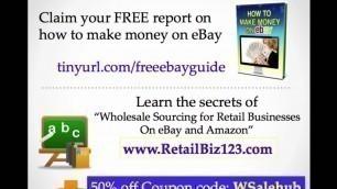 "'What is \""Broker\"" Wholesale, Retail definition series ebay, Amazon'"